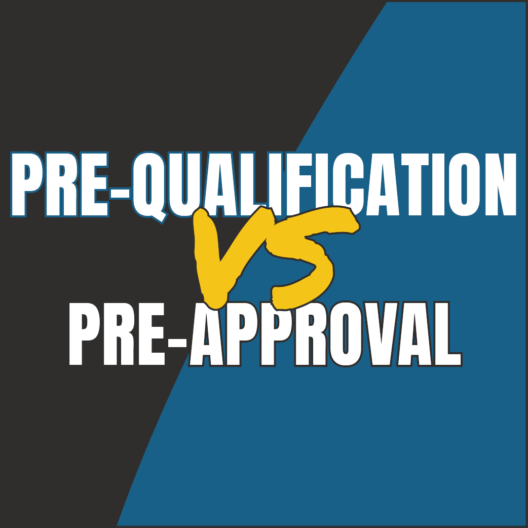Prequalify vs Preapproval Banner