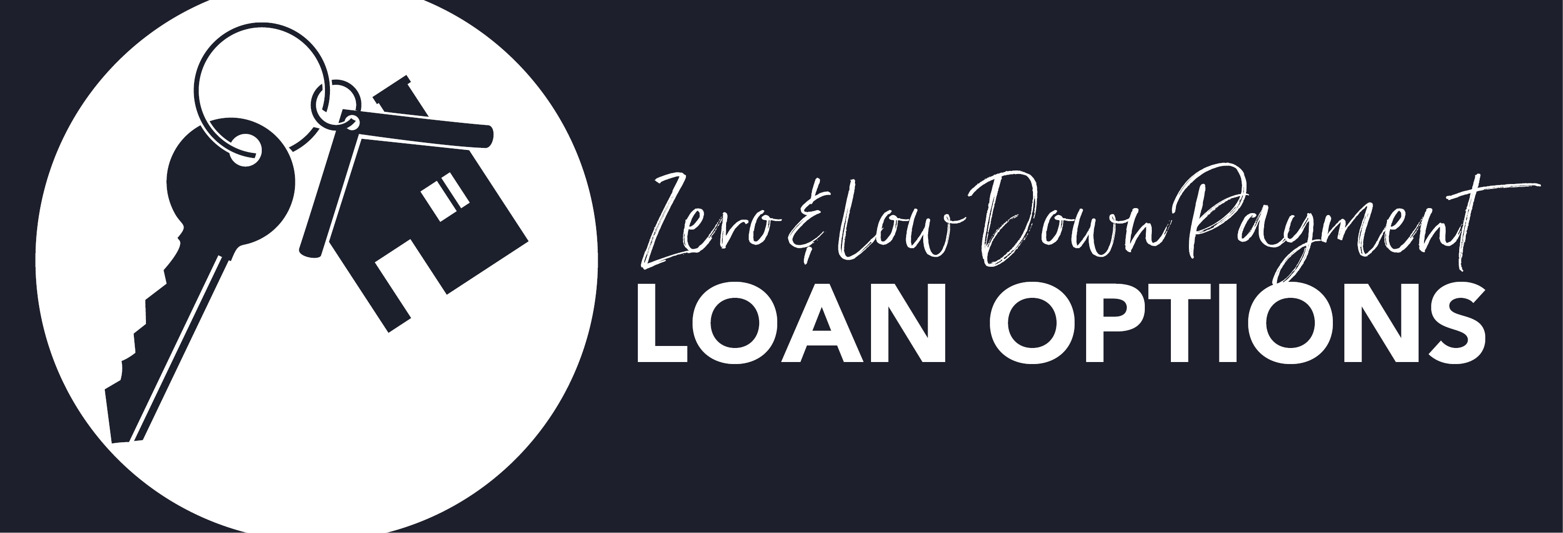 Zero and Low Down Payment Loan Options Teaser